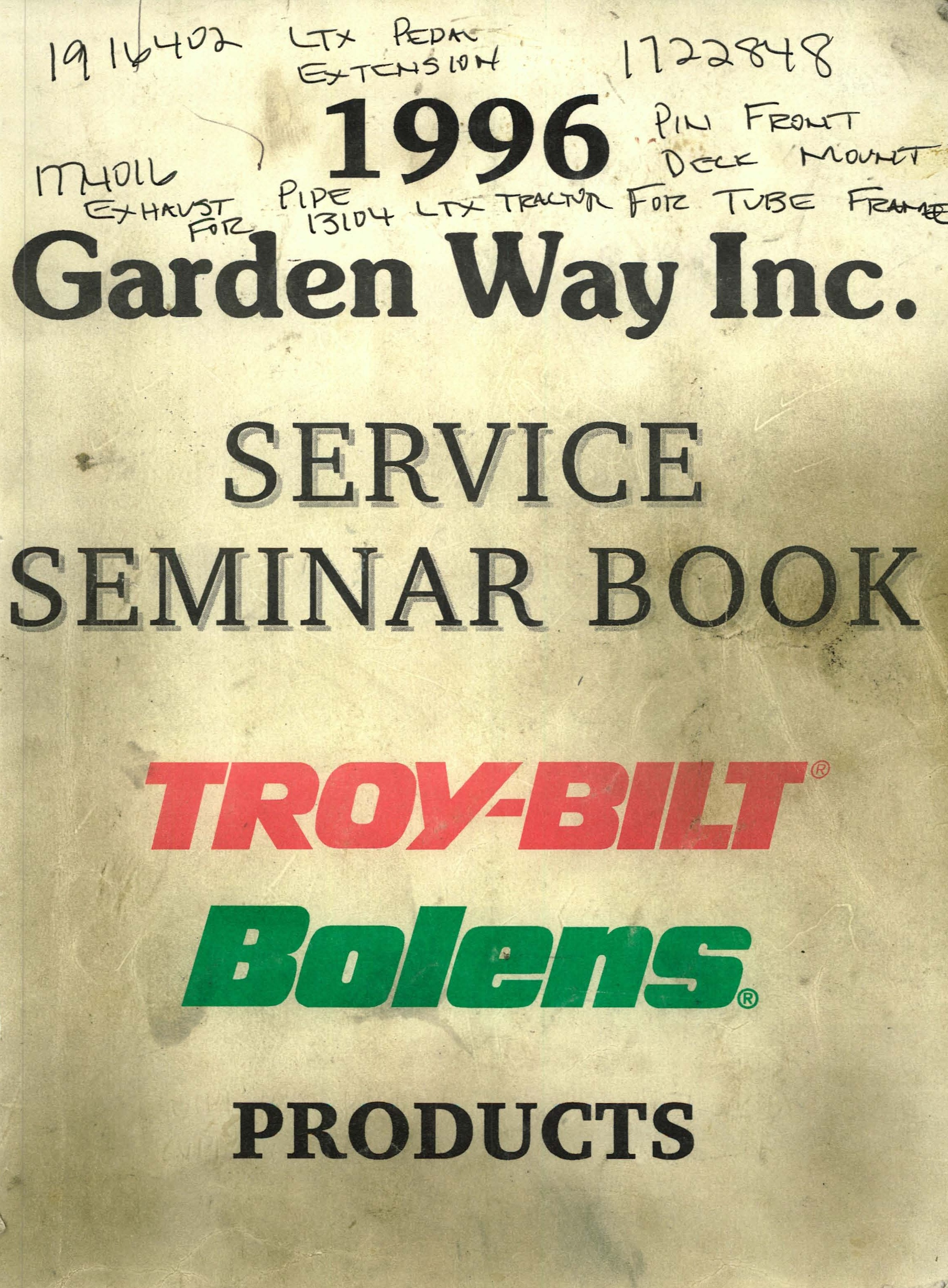 Lovely Miscellaneous Troy Bilt/Garden Way/Murray Owneru0027s Manuals,  Service Manuals And Parts